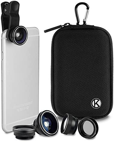 CamKix Deluxe - Kit de Lente Universal 5 en 1 para Smartphone, Tablet y Ordenador portátil: Amazon.es: Electrónica