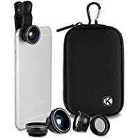 CamKix Deluxe Universal 5in1 Camera Lens Kit for...