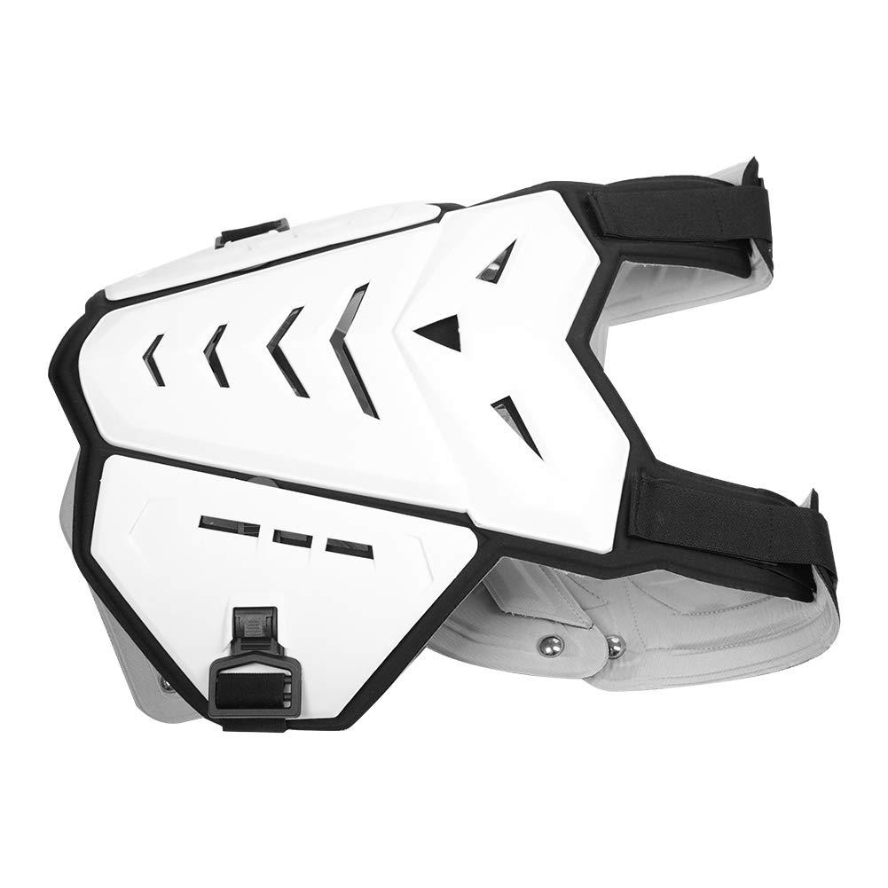 Motorcycle Protector Jacket, Motorcycle Armor Vest Motorcycle Riding Chest Armor Protector (white) by Cocoarm