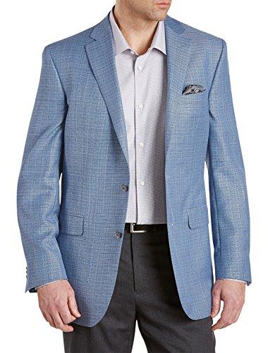 Big-Tall-Textured-Solid-Wool-Sport-Coat-Blue
