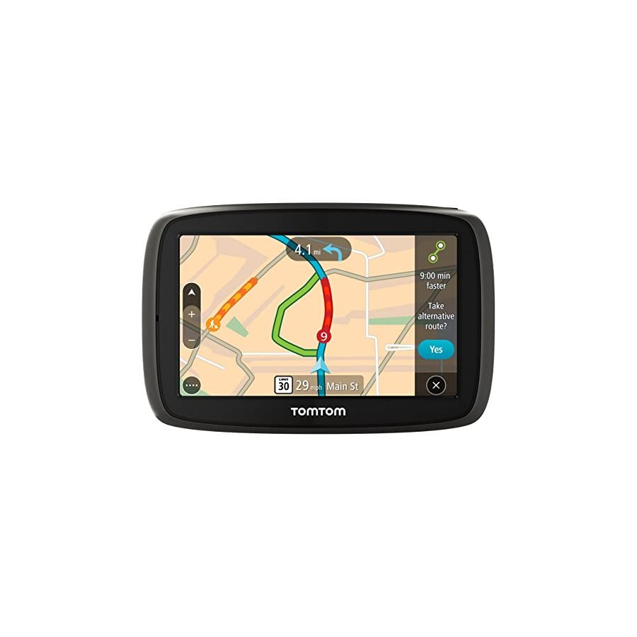 """TomTom GO 50 S 5"""" Portable Vehicle GPS with Lifetime Maps & Traffic"""