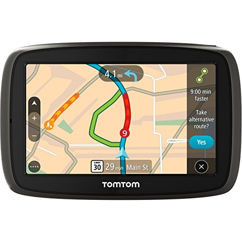 "TomTom GO 50 S 5"" Portable Vehicle GPS with Lifetime Maps & Traffic"