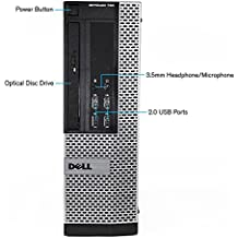 Dell Optiplex 790 SFF Computer, Intel Core i5 3.1 GHz, 16 GB RAM, 1 TB HDD, DVD-RW, Windows 10, (Upgrades Available) (Certified Refurbished)