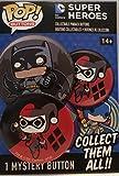 #10: Funko POP! Buttons - DC Comics Super Heroes - Harley Quinn