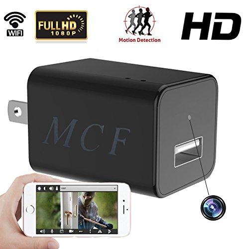 MCF Hidden Camera Wifi Spy 1080P Nanny Cam Indoor Security Surveillance Motion Detective Baby Monitor