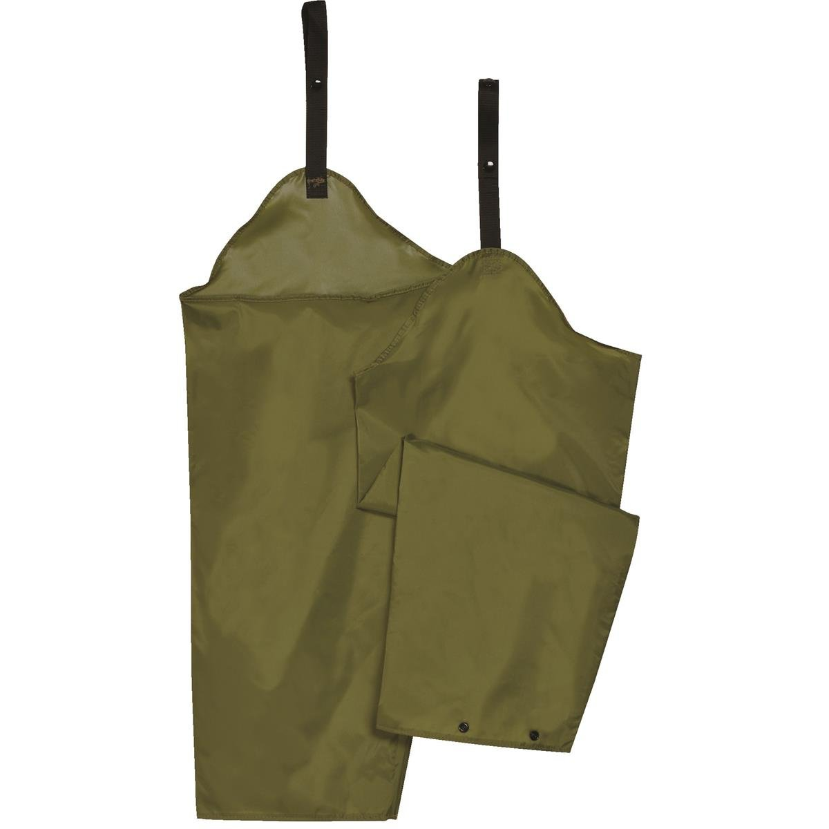 GEMPLER'S Adjustable Waterproof Lower Body Protective Spraying Safety Chaps, Olive Green, Lightweight, Chemical Resistant, One Size Fits All – Protects from Class III and IV pesticides.