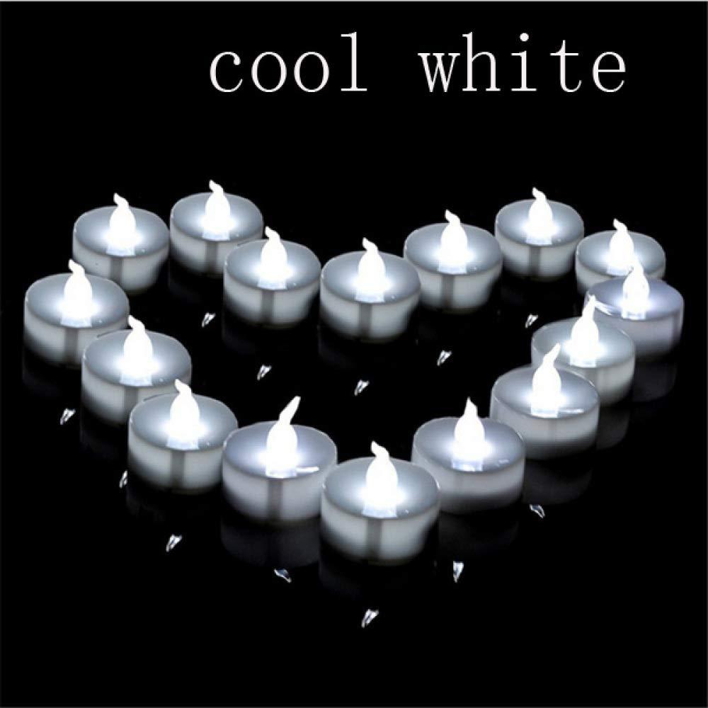 wangZJ Vela decorativa LED/paquete de 12 / parpadeantes velas de ...