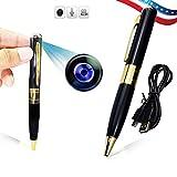 Bysameyee Spy Pen Camera 480P AVI format Mini Video Recorder Hidden Camera Portable DVR Pen Cam for Security Business Meeting Recording