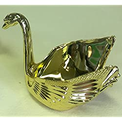 Shiny Gold Swan with Pouch Wedding Favors with - Set of 12 Swans