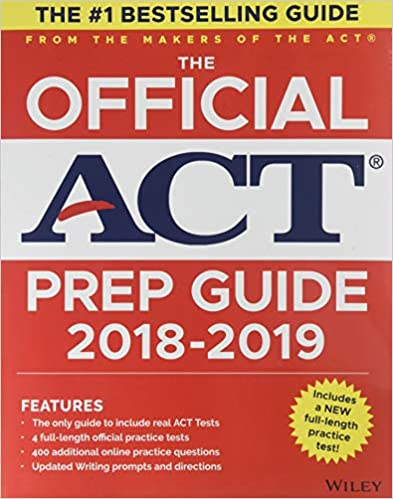 Amazon com: The Official ACT Prep Guide, 2018-19 Edition