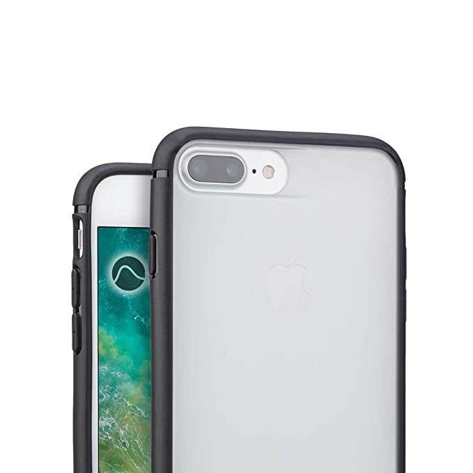 buy online 6a4c5 9144f Caudabe Synthesis iPhone 8 Plus / 7 Plus Slim, Rugged Protective iPhone  Case (Black)