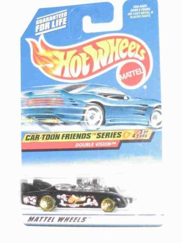 Cartoon Friends Series #3 Double Vision Collectible Collector Car Mattel Hot Wheels 1:64 Scale T0194
