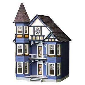 Dollhouse Miniature Painted Lady Dollhouse Kit