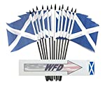 Pack of 12 4%22x6%22 Scotland Cross Poly