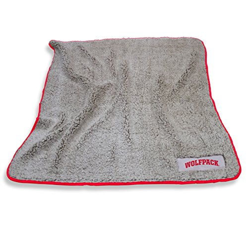 Logo Brands NC State Wolfpack Frosty Fleece Blanket ()