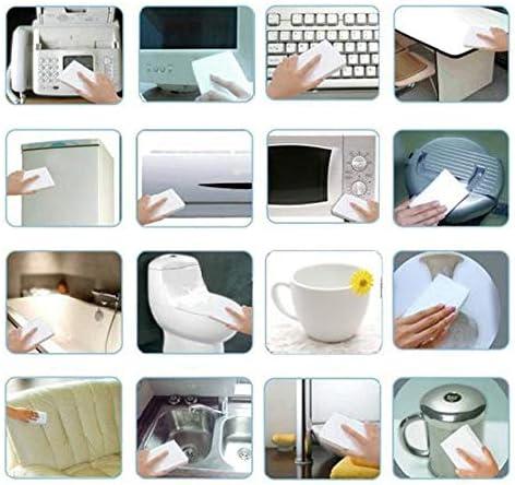 Lot de 100 /éponges magiques en m/élamine pour cuisine bureau salle de bain