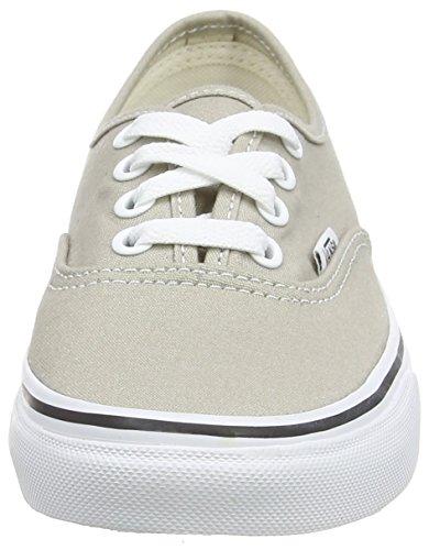 Vans Authentic, Zapatillas de skateboarding Unisex Blanco (Aluminum/True White)