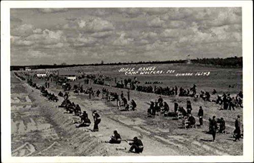 Rifle Range Camp Wolters, Texas Original Vintage Postcard by CardCow Vintage Postcards