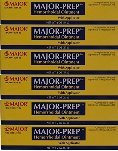 6-pack-major-prep-hemorrhoidal-ointment-with-applicator-2-oz-each-compare-to-the-same-active-ingredi