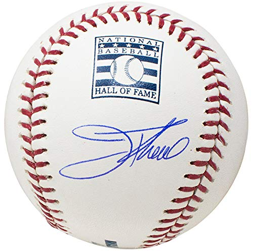 Jim Thome Cleveland Indians Signed MLB Hall Of Fame Baseball HOF w/Free Ball Cube Beckett