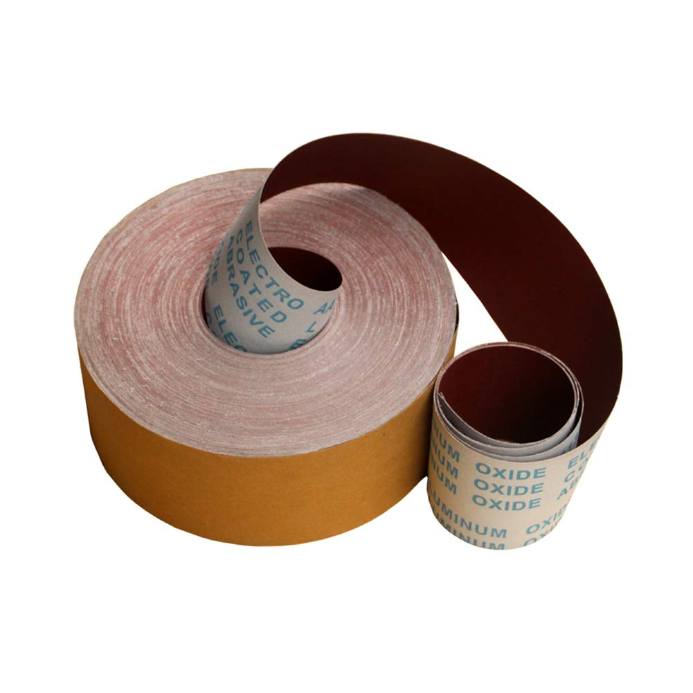DierCosy 240 Grit Sandpaper Roll Aluminum Oxide Cloth Roll for Wooden Furniture Polishing 33 Feet(10 Meters) Household