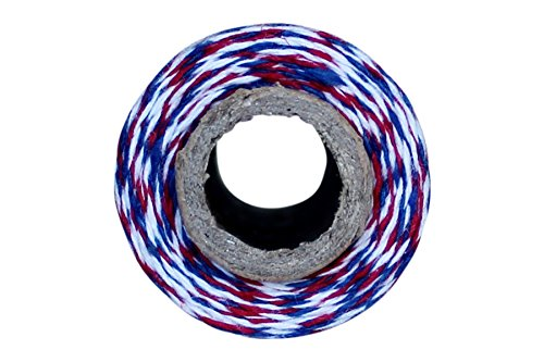 Airmail Red White and Blue Bakers Twine 110 Yard Spool