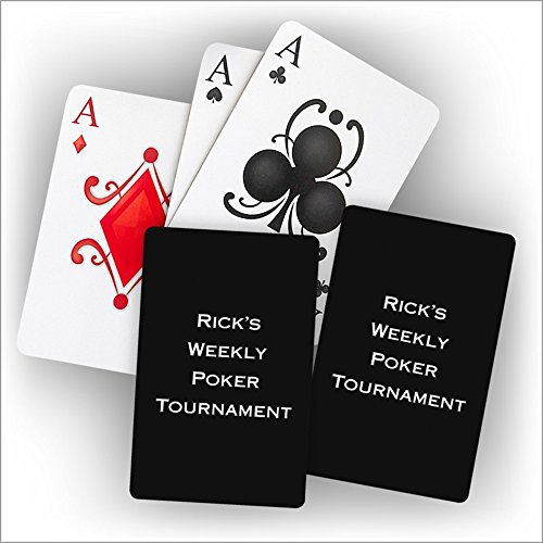 Personalized Playing Cards - 3995 by American Stationery