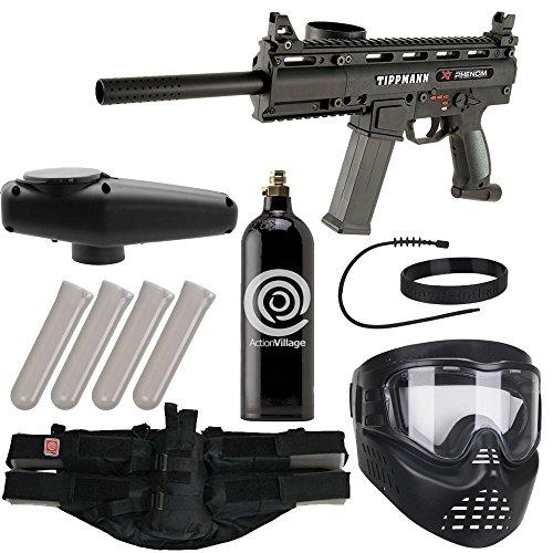 Action Village Tippmann Epic Paintball Gun Package Kit (X7 Phenom) (Phenom)