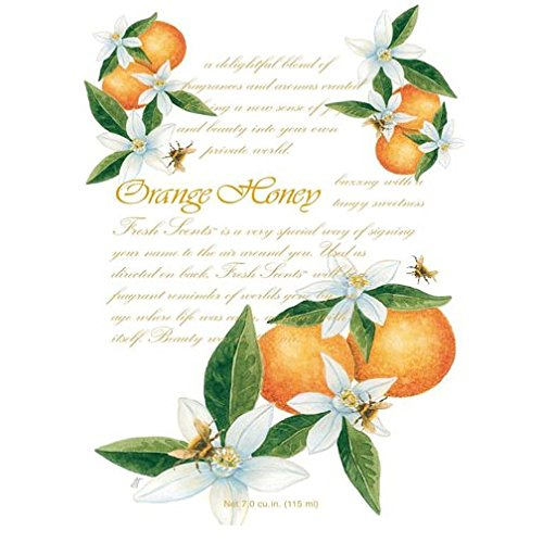 Willowbrook Fresh Scents Scented Sachet Set of 6 - Orange Honey by Fresh Scents