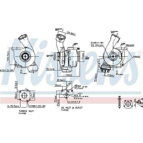Nisss 93176 Turbo Charger: