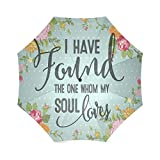 Christmas/Thanksgiving Gifts Bible Verses I have found the one whom my soul loves Umbrella