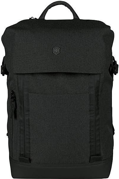 Victorinox Altmont Classic Deluxe Flapover Laptop Backpack, Black, 16.9-inch