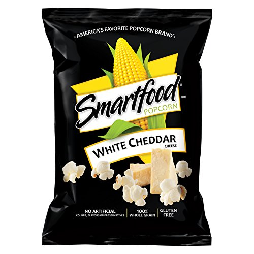 Smartfood White Cheddar Flavored Popcorn, 0.625 Ounce, 40 Count ()