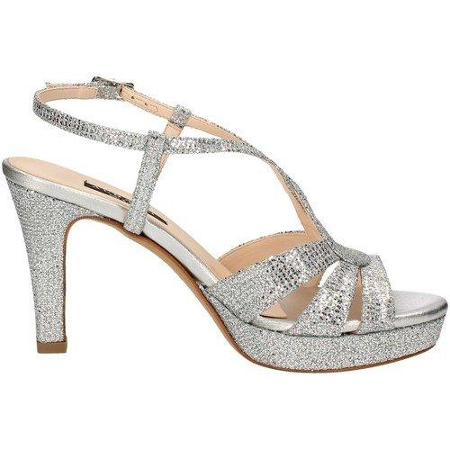 Sandalo elegante argento da donna Barato zKq6U4Gh
