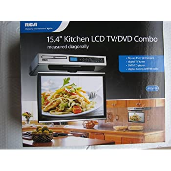 under cabinet kitchen tv dvd combo rca kitchen lcd tv dvd combo 15 4 quot 27489