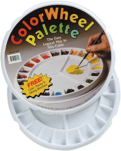 Color Palette Wheel - Speedball SPD-5771 Color Wheel Palette
