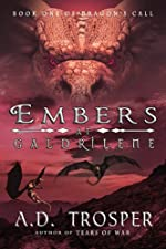 Embers at Galdrilene (Dragon's Call Series Book 1)