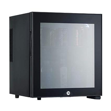HWG Mini Congelador Refrigerador De 30 litros con Puerta De Vidrio ...
