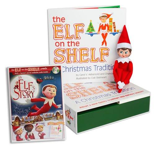 the elf on the shelf a christmas tradition blue eyed girl. Black Bedroom Furniture Sets. Home Design Ideas