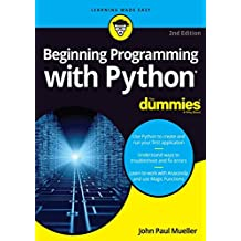 Beginning Programming with Python For Dummies (English Edition)