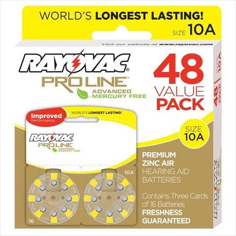 ray vac hearing aid batteries - 2