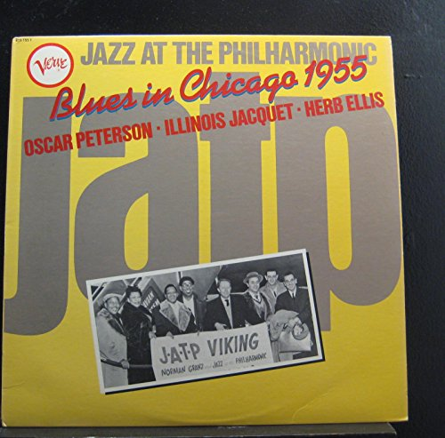 Oscar Peterson - Illinois Jacquet - Herb Ellis - Blues In Chicago - Lp Vinyl Record ()