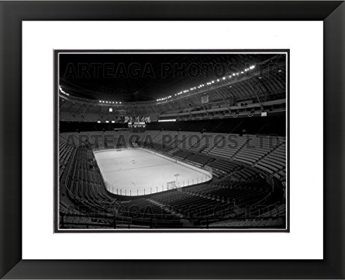 St. Louis Arena Inside in 1970 - Original Photography Print - Arteaga Photos - 24''x28'' Framed Double Matted Print by Arteaga Photos