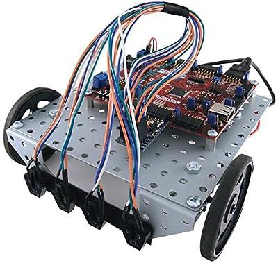 Digilent - 240-032 - Dev Kit, Pic32m Mcu, Robotic Line Sensor-by-digilent