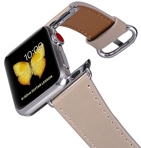 apple-watch-band-38mm-peak-zhang-women-light-tan-top-grain-leather-replacement-wrist-strap-with-stai