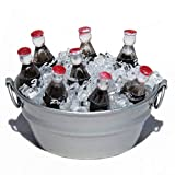 Bucket of Soda Pop on Ice Fairy Garden 17411