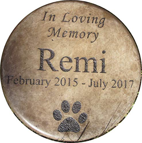 Personalized Engraved Pet Memorial Step Stone