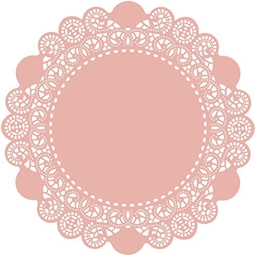 paper doilies colored - 6
