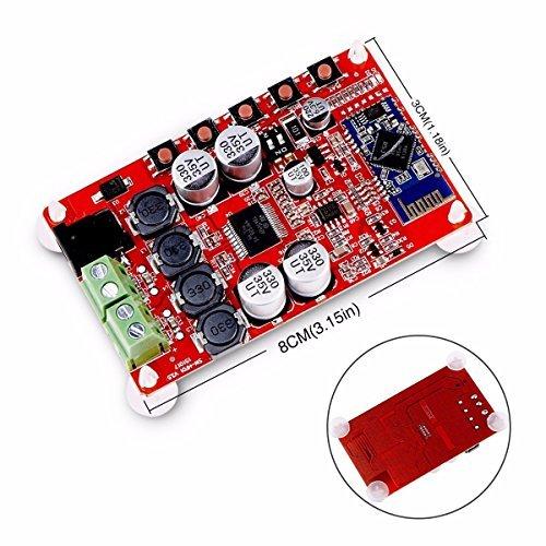 21 opinioni per ELEGIANT TDA7492P Amplificatore Wireless Mini Bluetooth 2x25W CSR4.0 Hifi Stereo