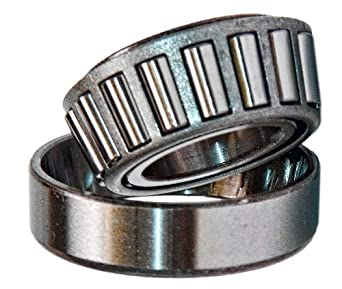 LM12749/LM12710 Tapered Roller Bearing Cone and Cup Set, Single Row, Metric, 21.986mm ID, 45.237mm OD, 15.494mm Width